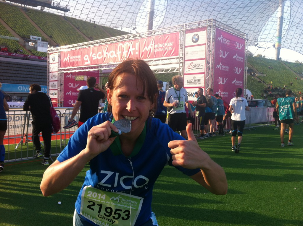 München Halbmarathon Medaille
