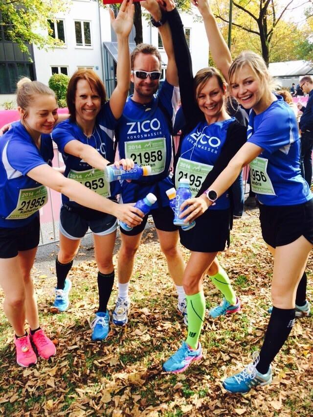 München Halbmarathon Team