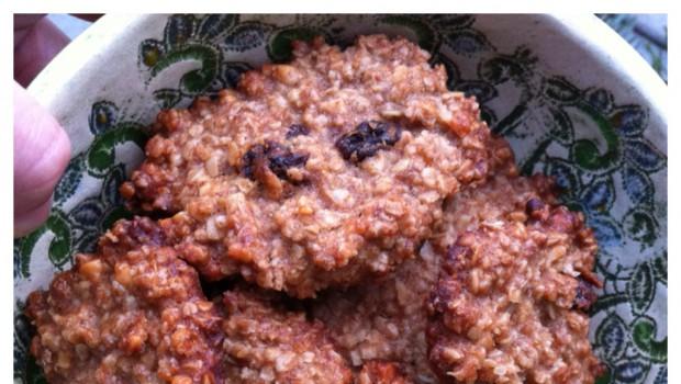 Energiespender: Vegane Hafer-Cookies