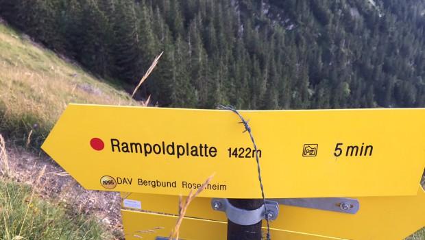 Kurz, knackig, wunderbar – Berglauf zur Rampoldplatte