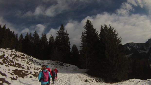 Trübe Aussichten auf dem Berg gibt es nicht, auf die Hochries !