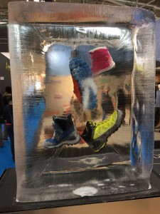 ISPO 2016 Eisblock