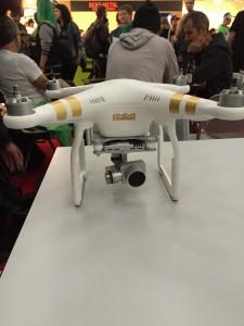 ISPO 2016 Drohne