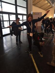 ISPO 2016 Slackline