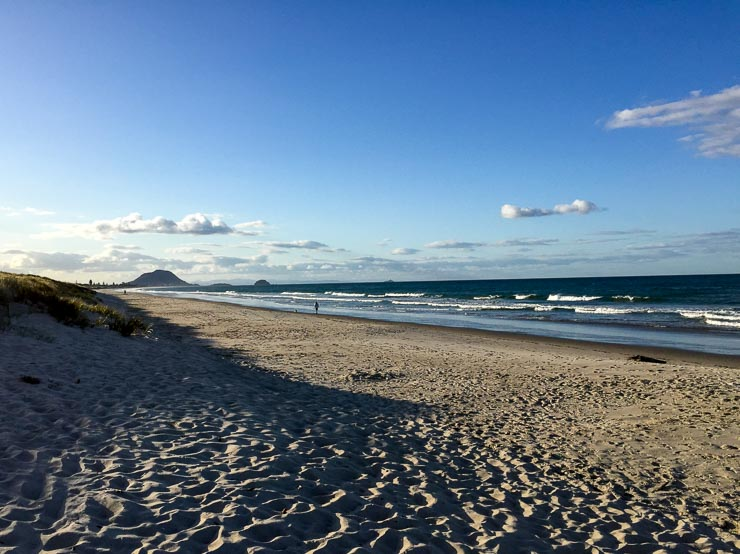 neuseeland papamoa beach nordinsel