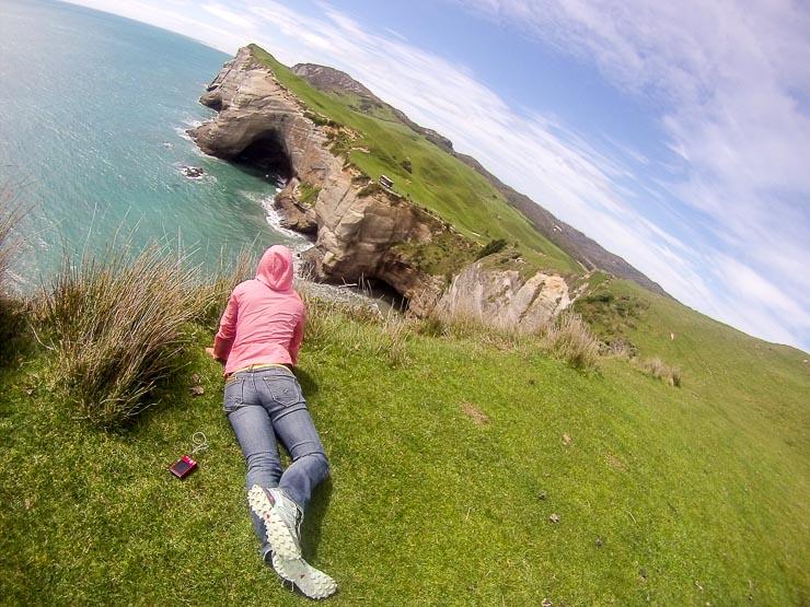 neuseeland cape farewell klippen