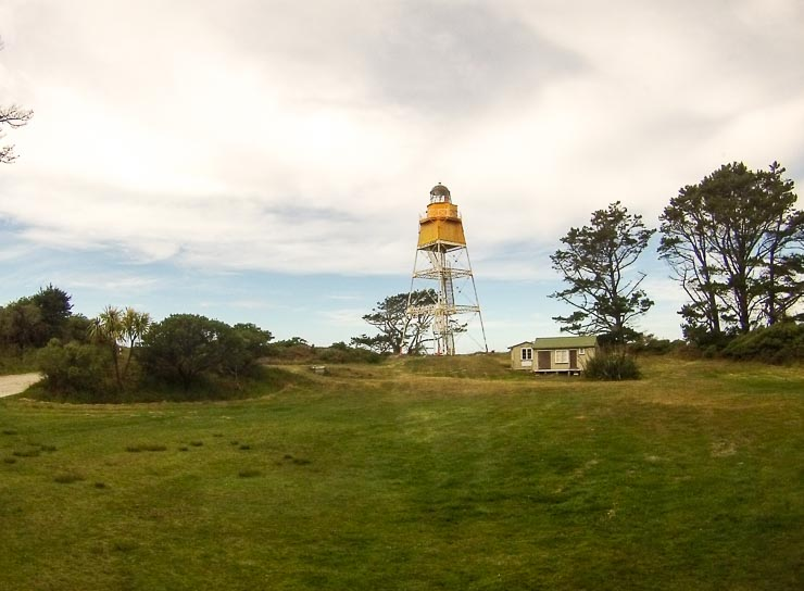 neuseeland neuseeland farewell spit leuchtturm