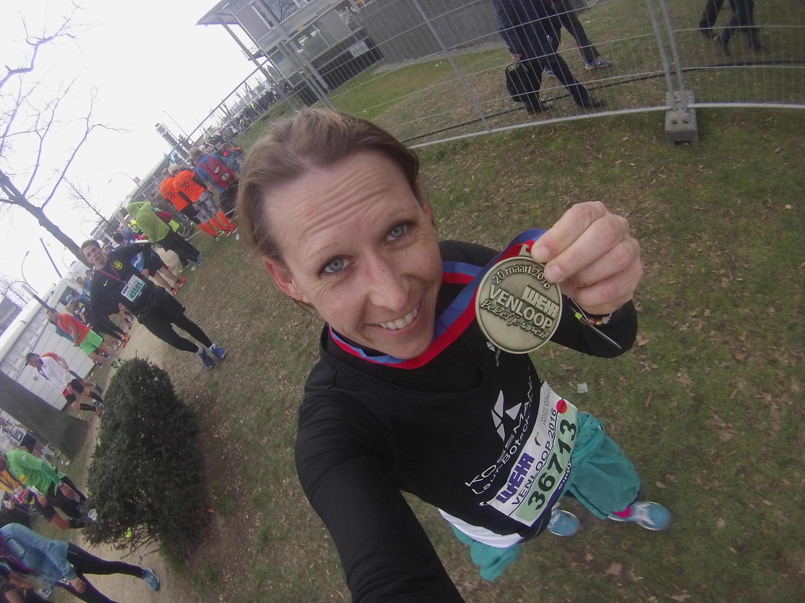 Venloop Halbmarathon Medaille