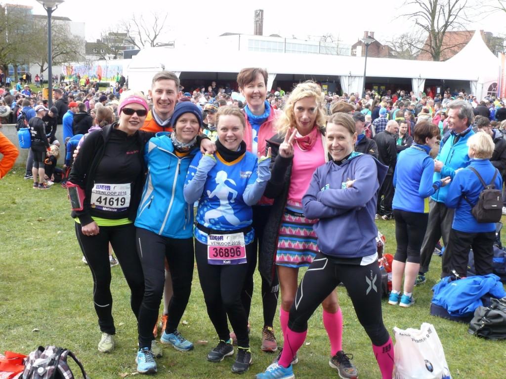 Venloop Halbmarathon vor dem Start