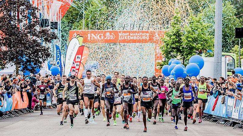 luxembourg marathon start teilnehmer
