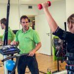 EMS Muskeltraining Verbesserung