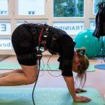 EMS Muskeltraining Rücken