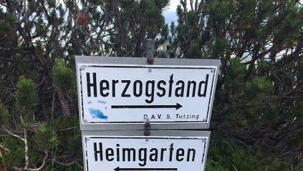 Trailrunning Heimgarten und Herzogstand