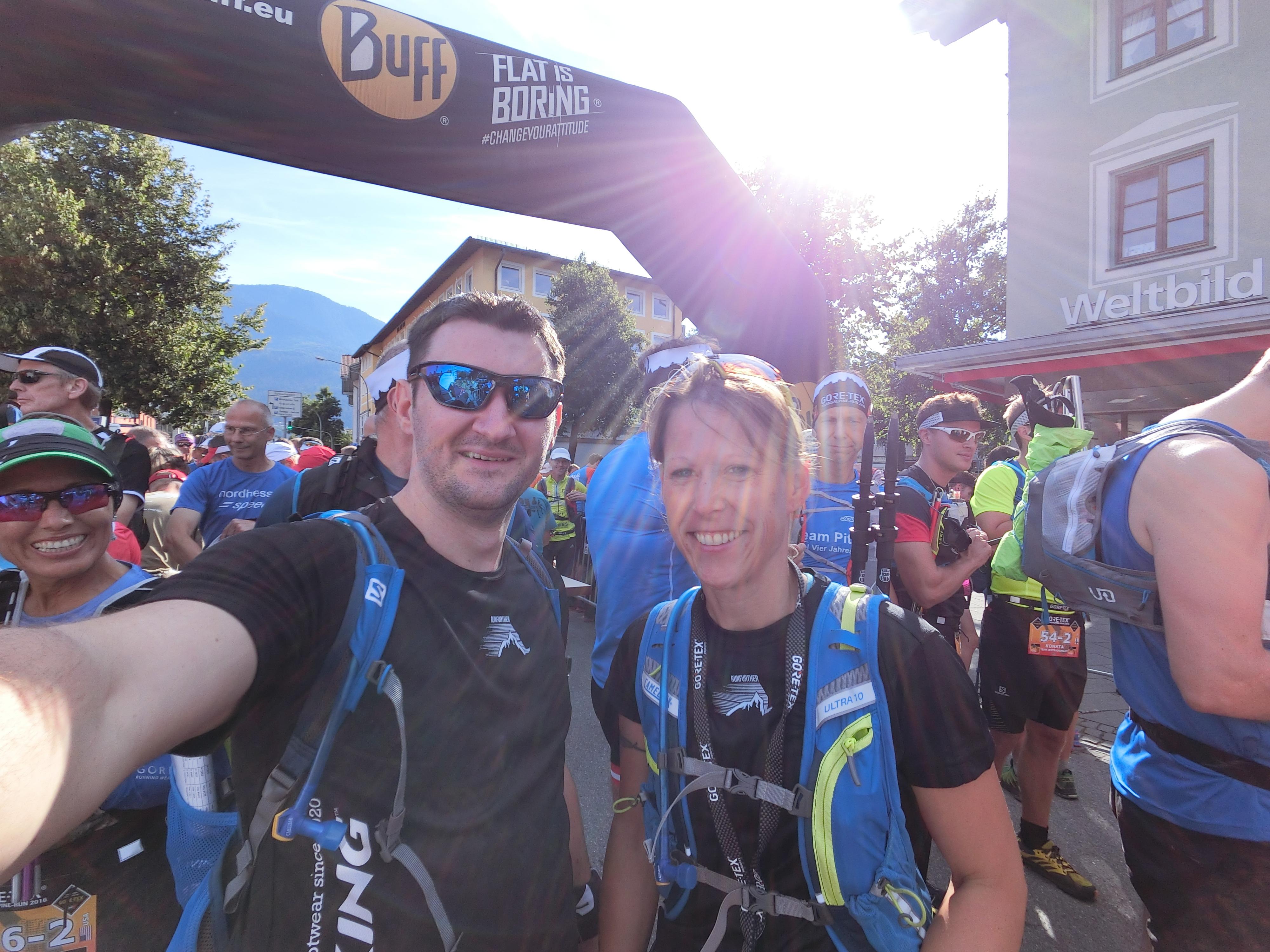 Transalpinerun Etappe 1 Team