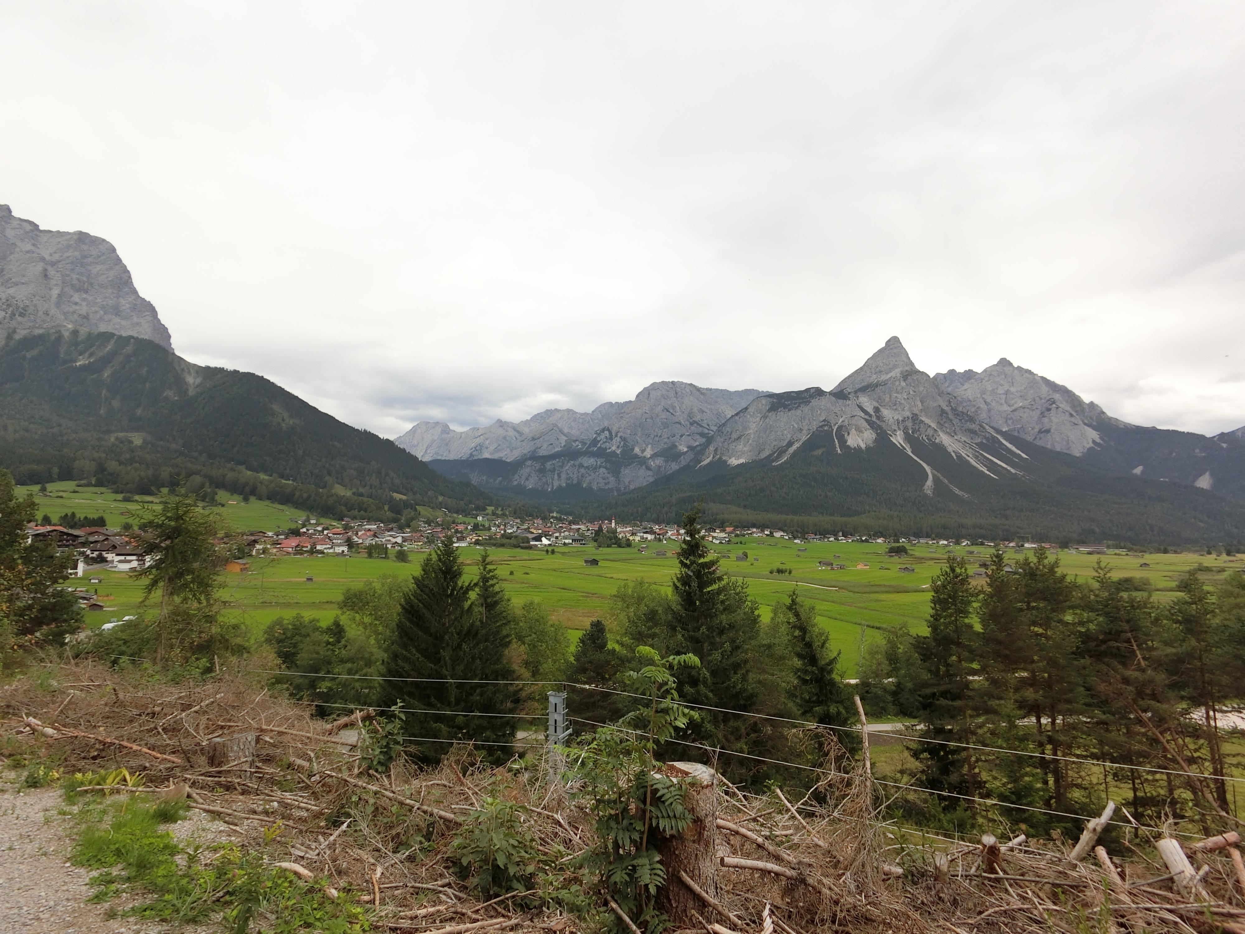 Transalpinerun Etappe 1 Lermoos