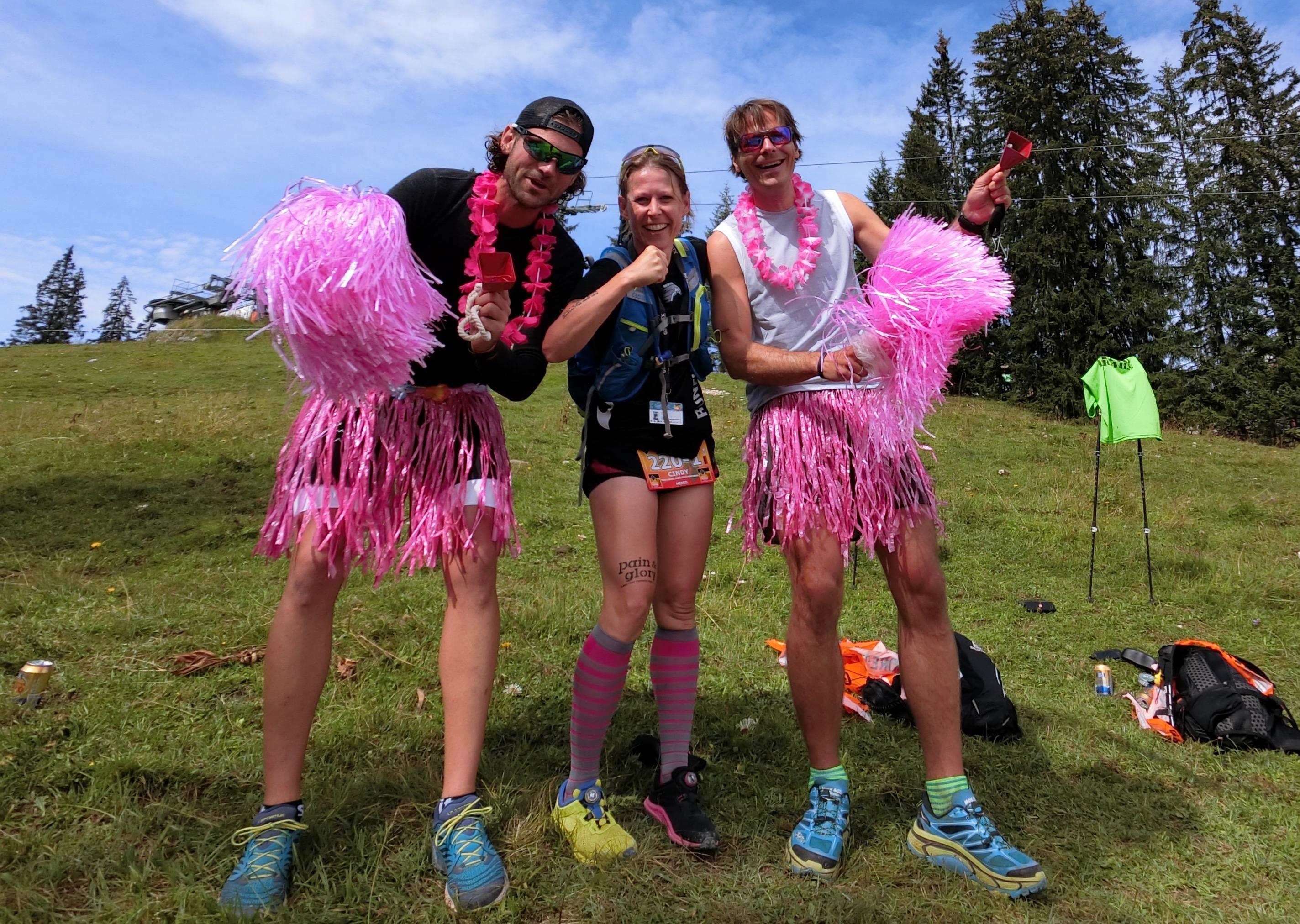 Transalpinerun Etappe 1 CheeringPoint