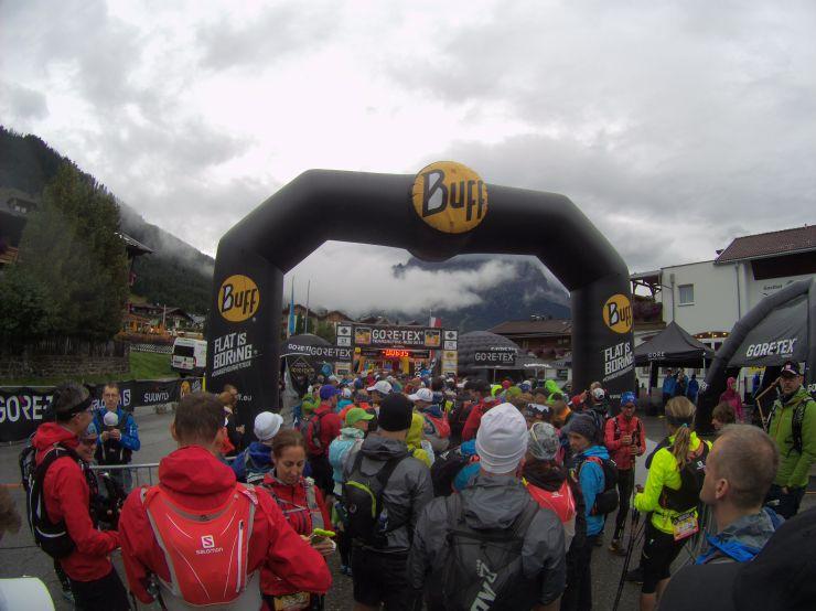 Transalpinerun Etappe 2 Start