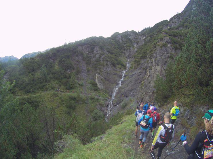 Transalpinerun Etappe 2 Downhill