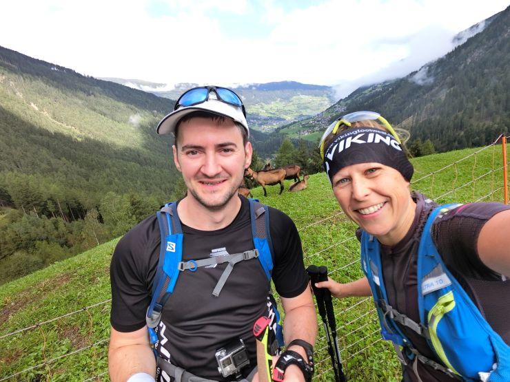 Transalpinerun Etappe 3 Team