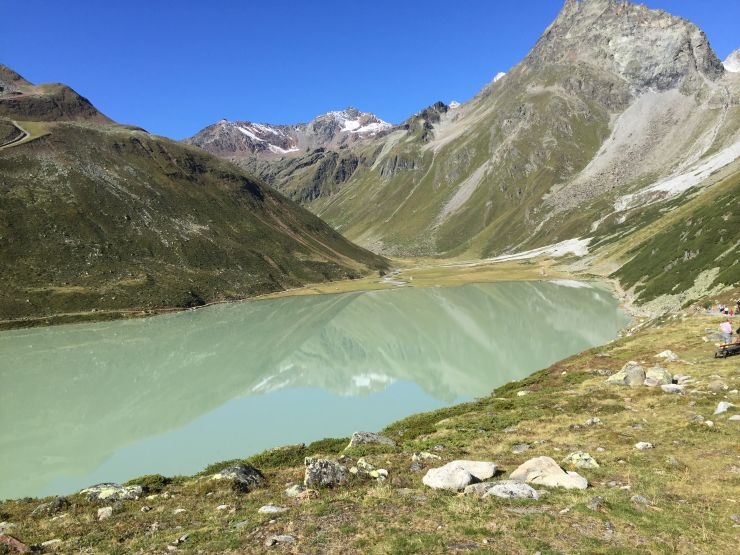 Transalpinerun Etappe 4 Rifflesee