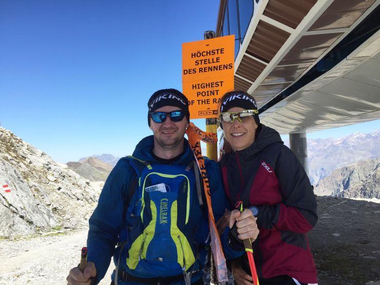 Transalpinerun Etappe 4 Team