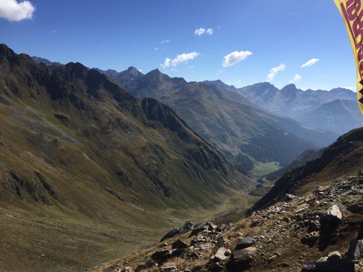 transalpinerun etappe 5 hallo Südtirol