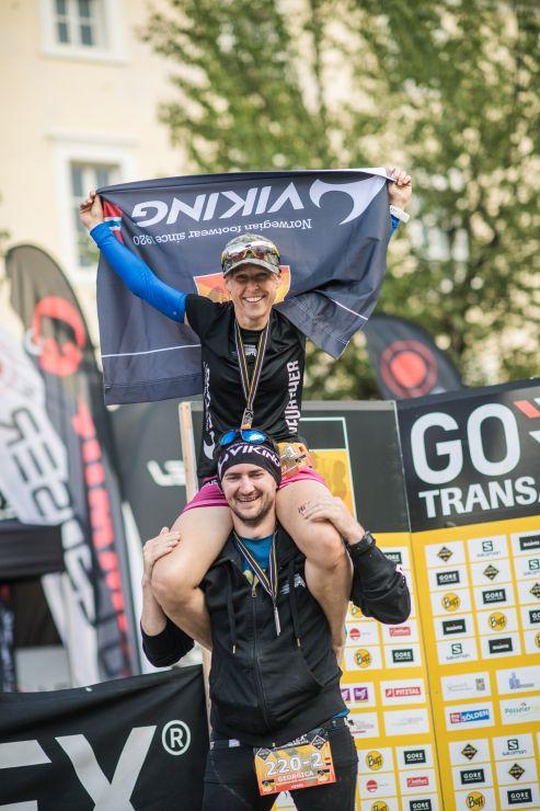 transalpine run Team VikingFootwear