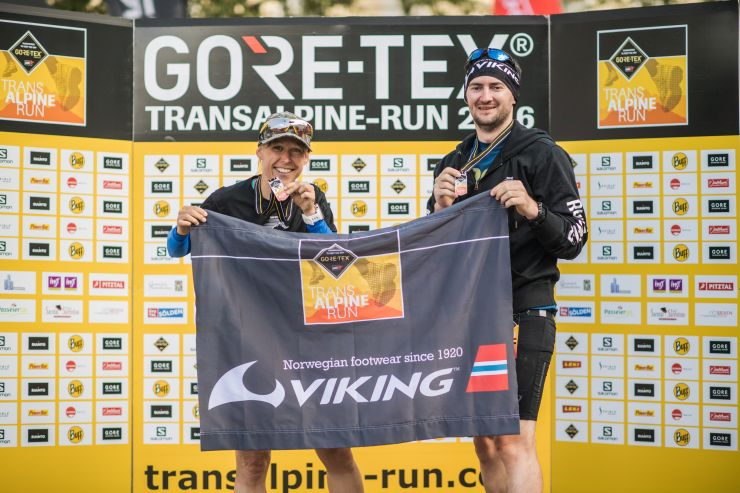transalpine run Ziel