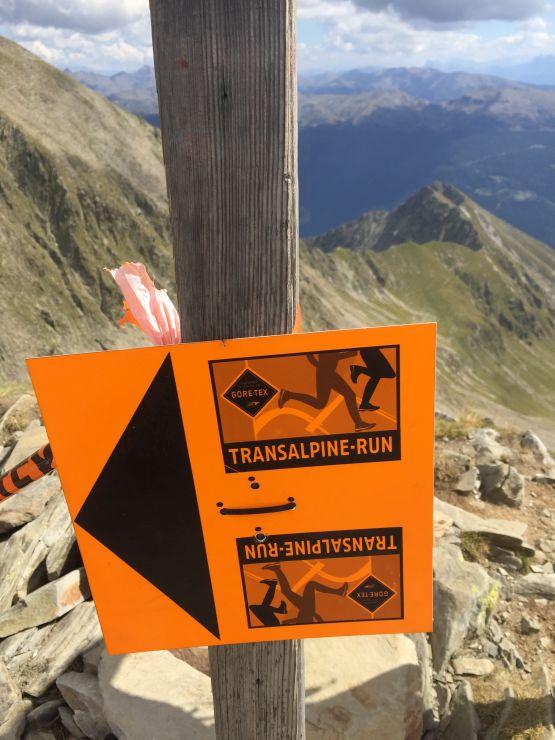 transalpine run Strecke