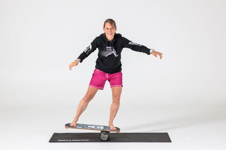 daffyboard Balanceübung