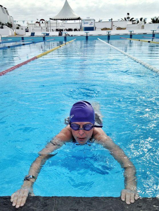 Triathlontraining schwimmen