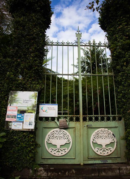 Maison Folio Eingang