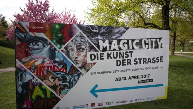 Magic City – die lebendige Kunst der Straße