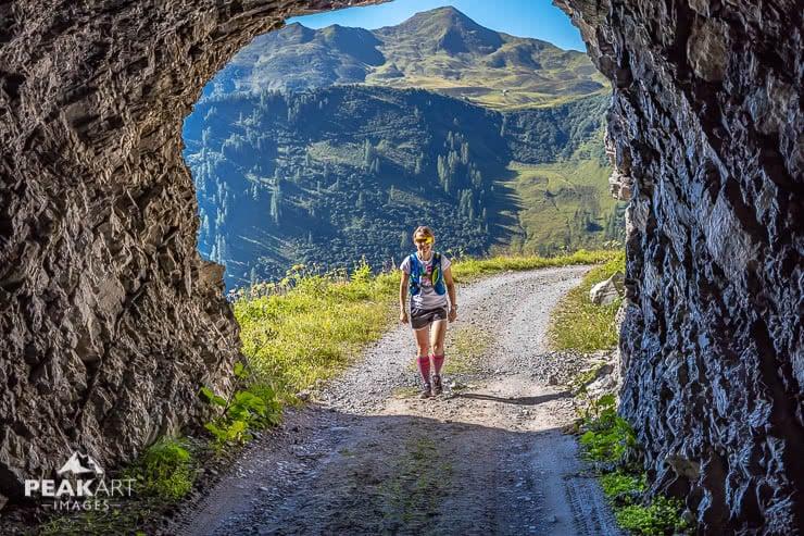 Vordere Grauspitze Tunnel