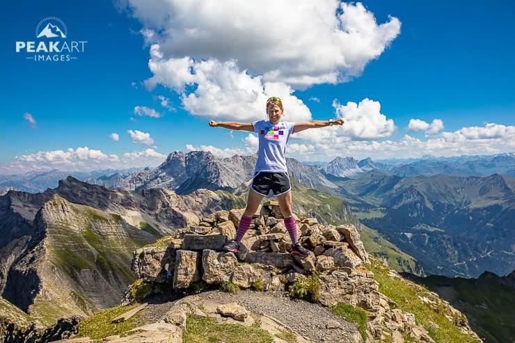 Vordere Grauspitze Gipfel