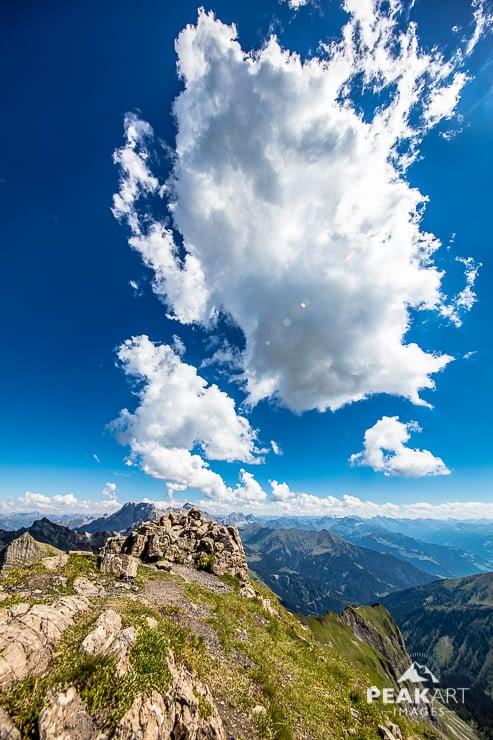 Vordere Grauspitze Aussicht