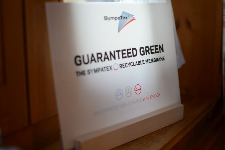 Sympatex Guaranteed Green