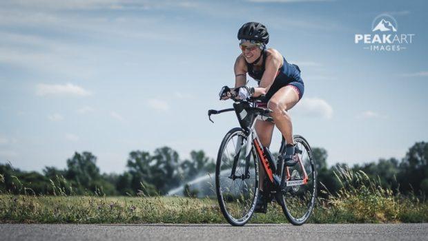 Triathlonvorbereitung – Rasanter Fahren auf dem Aerolenker