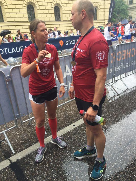 Halbmarathon Bestzeit Medaille