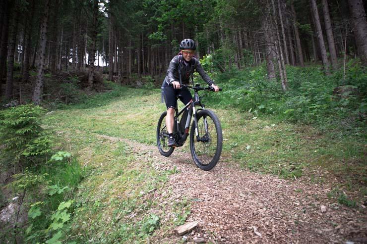 Liechtenstein Triesenberg E-Bike