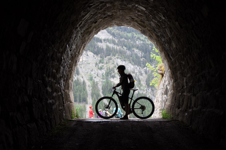 Liechtenstein Tunnel E-Bike
