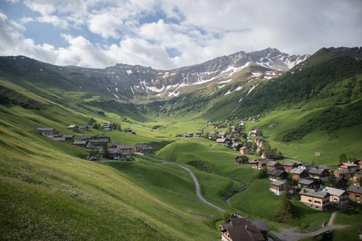 Liechtenstein Aussicht Sarais