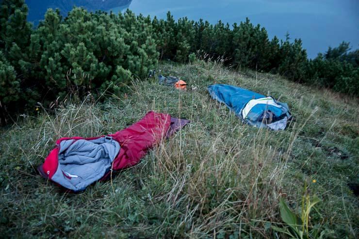 Biwakieren Übernachtung Lager
