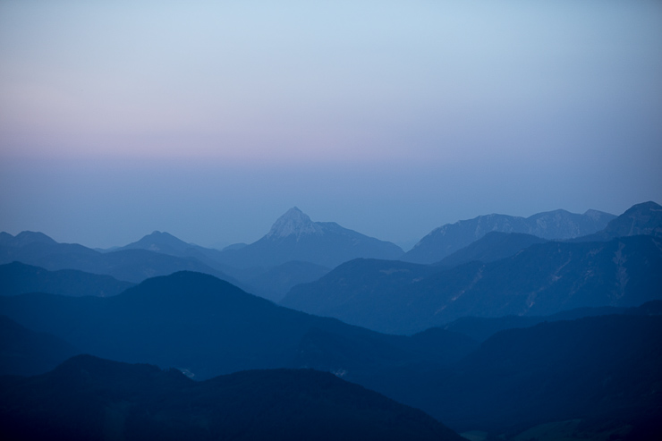 Biwakieren Aussicht Berg