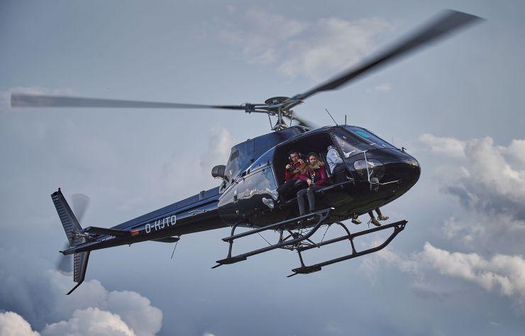 Saalbach Hinterglemm Helicopter fliegen