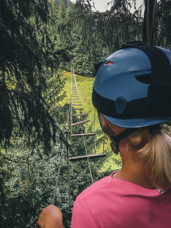 Saalbach Hinterglemm Kletterpark