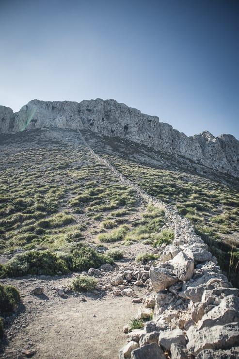 GR 221 Mallorca Trockenmauer