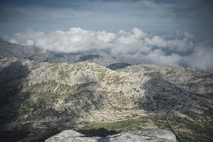 GR 221 Mallorca Aufstieg