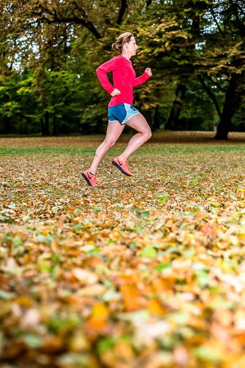 Laufen im Herbst Fitnessstudio adieu