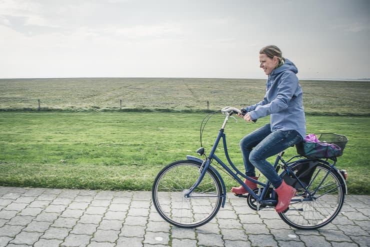 Ostfriesland Langeoog Fahrradtour